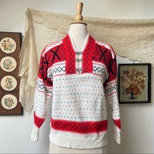Vintage Northern Isles Wool Sweater